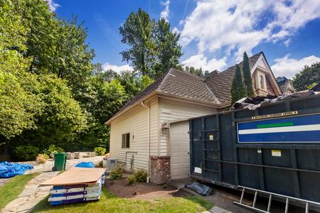 40-yard dumpster